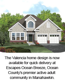 The Valencia at Escapes Ocean Breeze