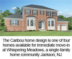 The Caribou home design available at Whispering Meadows, a Paramount Homes community in Jackson.